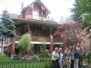 """""""Dom Ignacego Jana Paderewskiego"""" w Wicker Park (2138 W. Pierce Ave.) w Chicago, była rezydencja biznesmana, przyjaciela Paderewskiego Jana Smulskiego"""