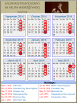 kalendarz 2014-2015
