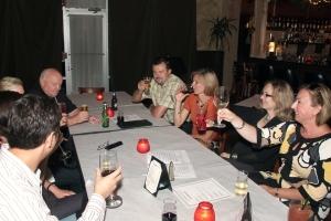 Ostatnie zebranie Klubu Polskiego odbyło się w przyjemnej atmosferze włoskiej restauracji