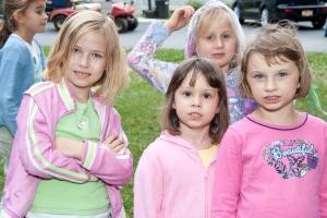 dzieci miały wiele konkursów i rozgrywek na świeżym powietrzu