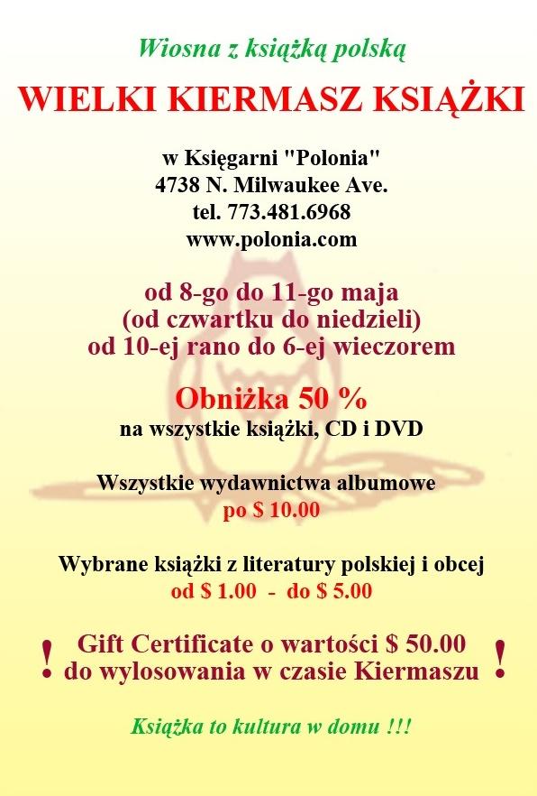 Kiermasz Ksiazki w Ksiegarni Polonia