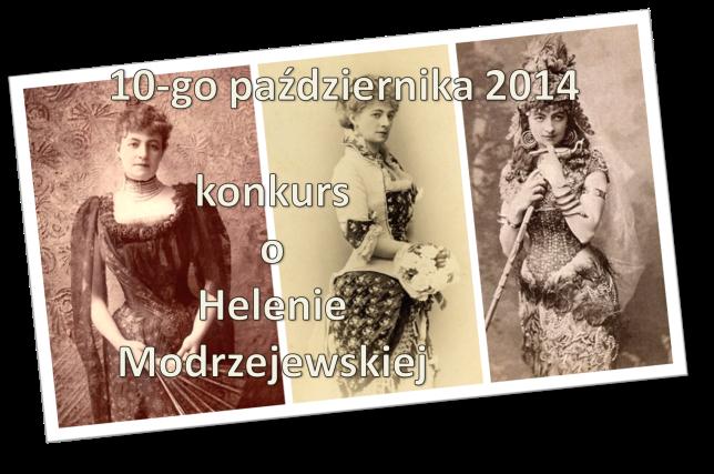 konkurs o helenie modrzejewskiej