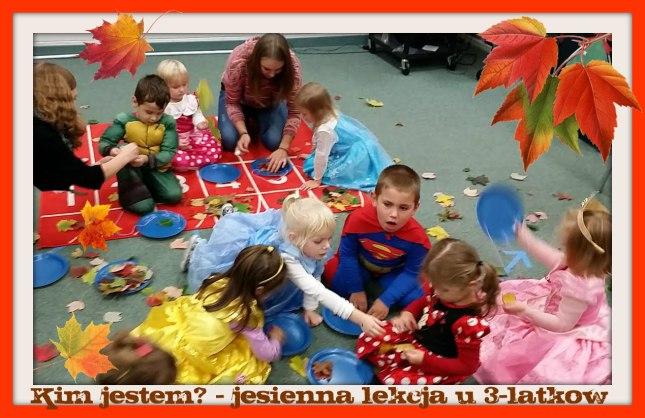KIm jestem jesienna lekcja u 3-latkow