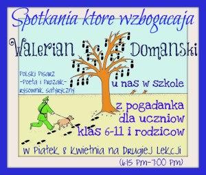 Walerian Domanski spotkanie